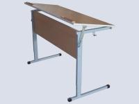 Стол ученический высота и угол наклона регулируются