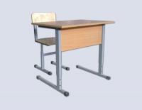 Комплект учебной мебели одноместный регулируемый по высоте