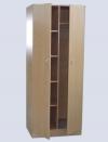 Шкаф двухстворчатый, комбинированный