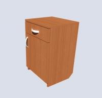 Тумба прикроватная с ящиком
